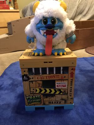 Monster Crate Toy, Voice Recorder, Variety Different Monster noise for Sale in Escondido, CA