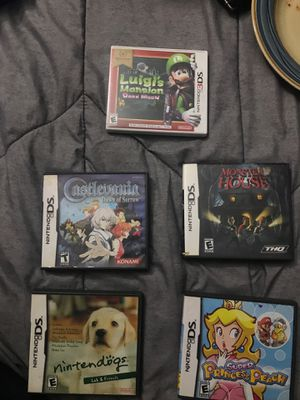 5ds games can each be sold separately for Sale in Richmond, CA