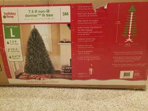 7.5ft unlit Christmas tree for Sale in Edmonds, WA