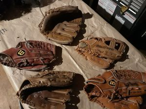 Baseball gloves..buying for Sale in Chesapeake, VA