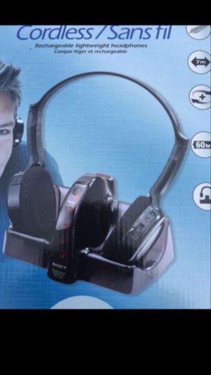 Sony wireless headphones trade for Sale in Chula Vista, CA