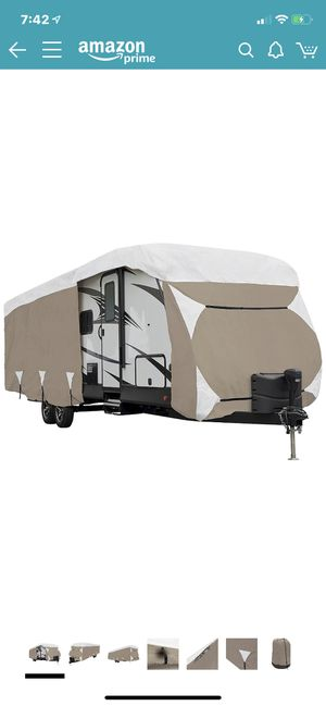 AMAZON BASIC TRAVEL TRAILER COVER for Sale in Peoria, AZ