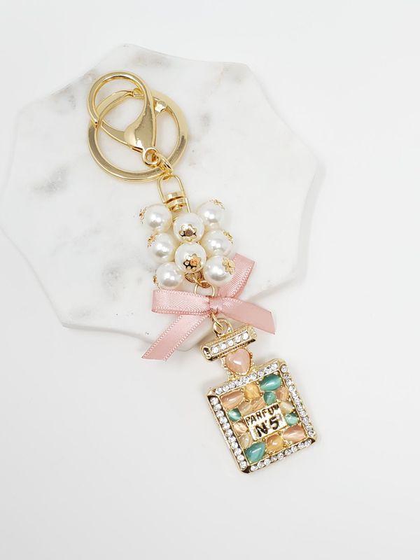 Beautiful key chain bag charm