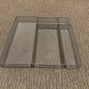Wire Mesh Drawer Organizers (5 Pieces) for Sale in Portland, OR
