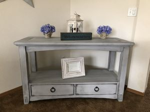 Custom finished buffet / sofa table for Sale in Orting, WA