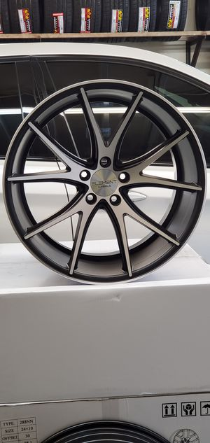 """EASY FINANCING AVAILABLE 20"""" INCH STAGGERED ELEMENT WHEELS RINS AND TIRES CREDITO FACIL RIN Y LLANTAS for Sale in Los Angeles, CA"""