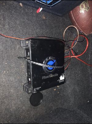 12 inch speakers and 1500 watts amp for Sale in Tyler, TX