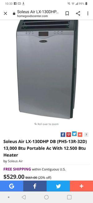 Portable A.C + Dehumidifier + Heater soleus air ph5-13r-32d for Sale in Anaheim, CA