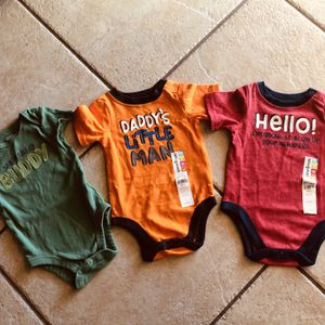 Daddy Love - 0-3 month onesies - 3 for $6 for Sale in Phoenix, AZ