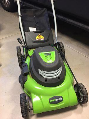 Greenworks Electric Lawn Mower for Sale in Bellevue, WA