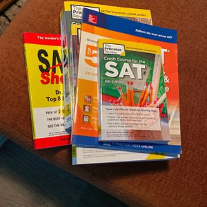 SAT BOOKS for Sale in Manassas, VA