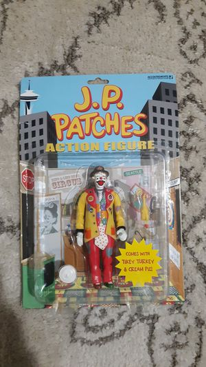 J.P. Patches Action Figure Never Been Opened for Collectors for Sale in Tacoma, WA