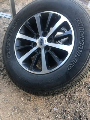 "2018 Ford Expedition wheels and tires 18"" $650 for Sale in Payson, AZ"