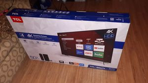 """TCL-roku Tv 50"""" 4k for Sale in Chattanooga, TN"""