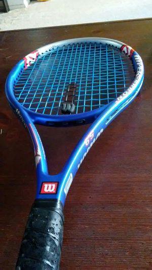 Wilson tennis racket hyper hammer with bag for Sale in Alameda, CA
