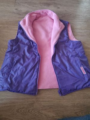 Reversible half jacket and light weight hoodie jacket for girls size 8-10 for Sale in Chandler, AZ