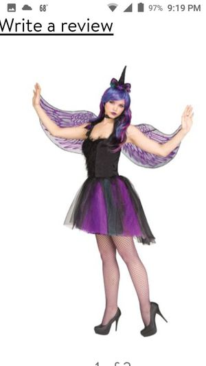 Moonlight unicorn costume for Sale in Baldwin Park, CA