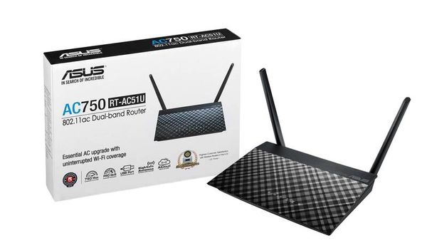 Asus AC750 WiFi/wireless router