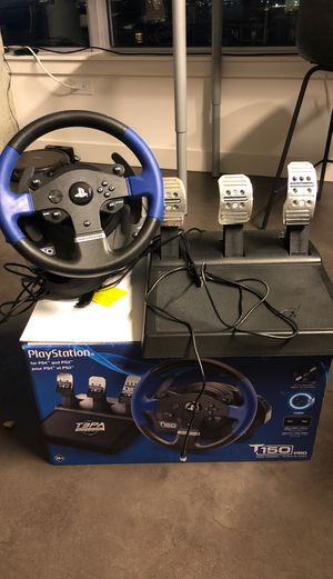 Thrustmaster t150 Pro Sim Racing Wheel (PC/PS4/PS3) for Sale in Seattle, WA