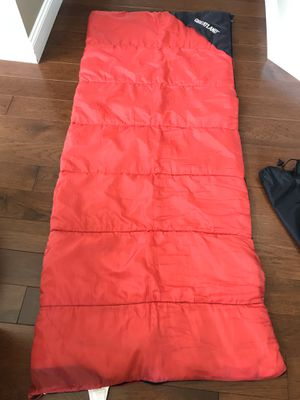 Rectangular sleeping bag with stuff sack for Sale in Sterling, VA