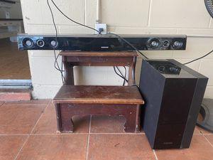 Samsung HW-FM45C 2.1 Channel 280 Watt AudioBar w/ Subwoofer for Sale in Brandon, FL