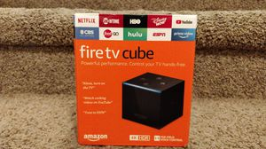 New! Amazon Fire TV Cube 2nd Gen 4K Streaming Media Player for Sale in Anaheim, CA