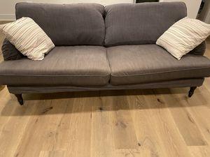 IKEA stocksund sofa, Dark Grey for Sale in Kirkland, WA