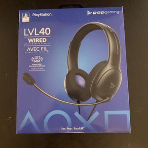 Ps4 Headset Lvl 40 Brand New Open Box $20 for Sale in Litchfield Park, AZ