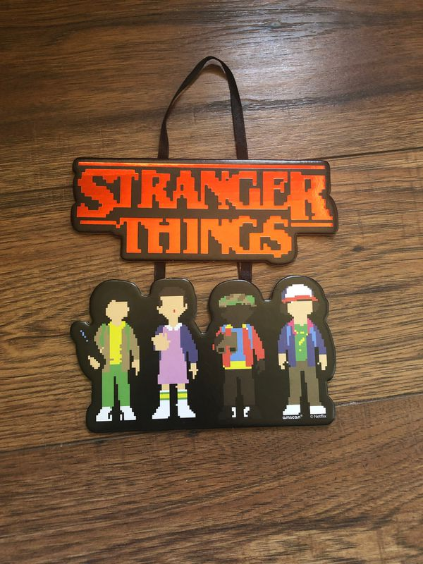 Stranger Things Stacked Sign
