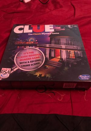 Clue the game board for Sale in Bloomington, IL