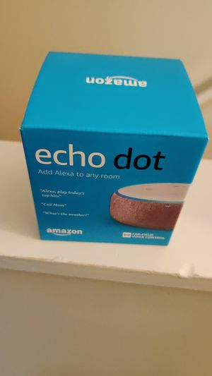 Brand new Amazon echo Dot for Sale in Cleveland, OH