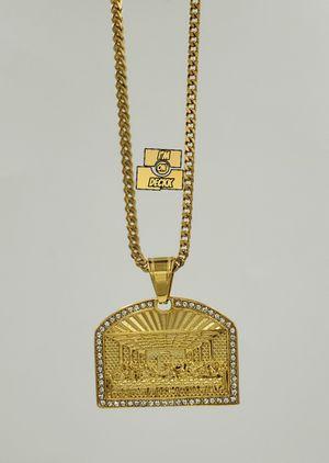 🚨🚨🚨14k gold plated Franco Chain 🚨🚨🚨 i deliver for Sale in Miami, FL