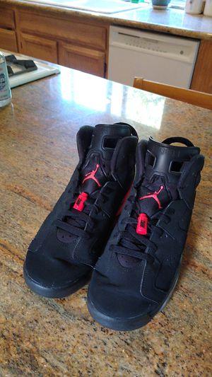 jordan 6 black retro infrared for Sale in Renton, WA
