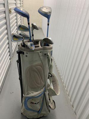 Ram Golf club bag & 9 clubs for Sale in Phoenix, AZ