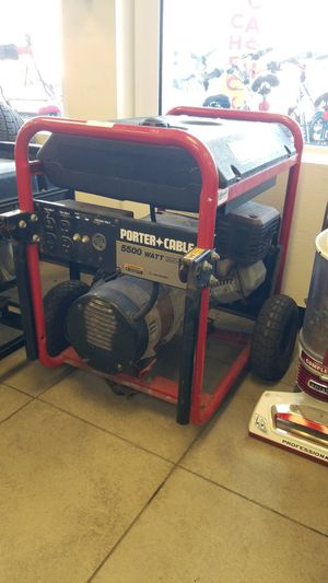 Porter cable generator for Sale in Haines City, FL