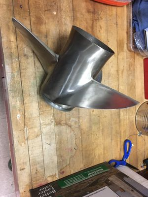 Stainless steel speed prop for Sale in Hamilton, MA