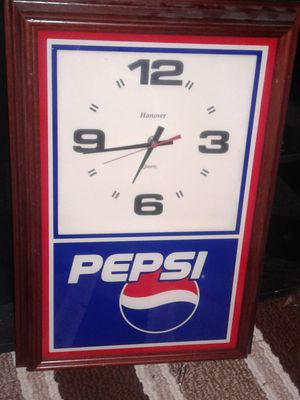 Pepsi Wall Clock for Sale in Columbus, OH