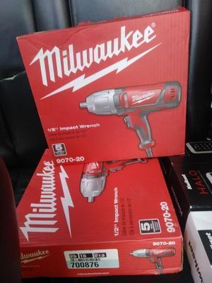 Milwaukee 1/2 corded impact wrench for Sale in Baltimore, MD