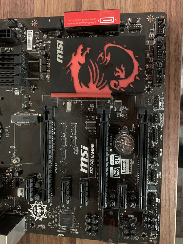 MSI Z87 G45 Gaming Motherboard LGA 1150