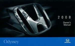 2008 Honda Odyssey Owners Manual User Guide. Book for Sale in Pleasant Grove, UT