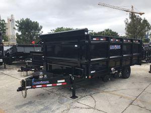8x16 Dump Trailer for Sale in Pembroke Pines, FL
