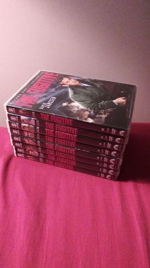 The Fugitive Complete Series Seasons 1 Thru 4 for Sale in New Oxford, PA