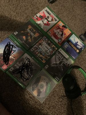 Xbox one games for sell for Sale in Salt Lake City, UT