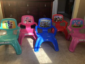 Character kid chairs for Sale in Pickerington, OH