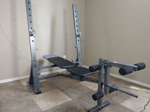 Gold's Gym 20.0 Olympic Weight Bench - PICK UP ONLY yes it fits in a Car INBOX for Sale in Las Vegas, NV