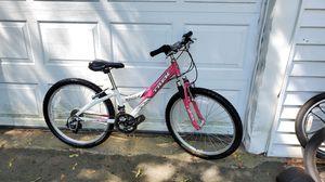 "Girl's TREK mountain bike W/front suspension. 24"" wheel, SMALL 12"" frame. for Sale in Hopedale, MA"