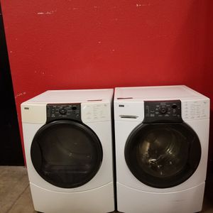 Kenmore Washer and Gas Dryer Set good Working Condition Set For $349 for Sale in Wheat Ridge, CO