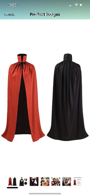 Unisex Robe Halloween Decorations 3/4 Cosplay Cloak Halloween Costumes for Sale in Brooklyn, NY