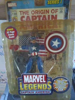 Marvel Legends Captain America for Sale in San Antonio, TX