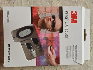 3M Peltor Earbud Noise Isolating Headphones 2600N, Foam Plastic Metal, Black/Gra for Sale in Coral Springs, FL